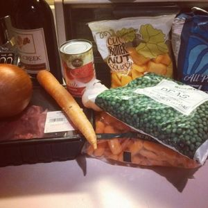 Beef and Vegetable Stew: Ingredients (Photo by Gourmet Rambler)